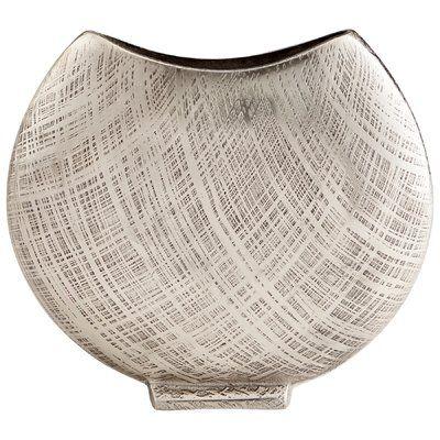 Cyan Design Corinne Table Vase Size: 9.25″ H x 10.5″ W x 2.5″ D