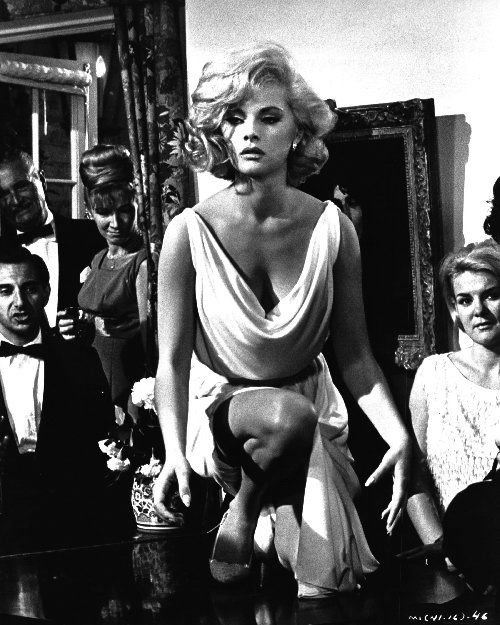 "Virna Lisi. very funny movie called ""How to LKill Your wife"" with Jack Lemon"