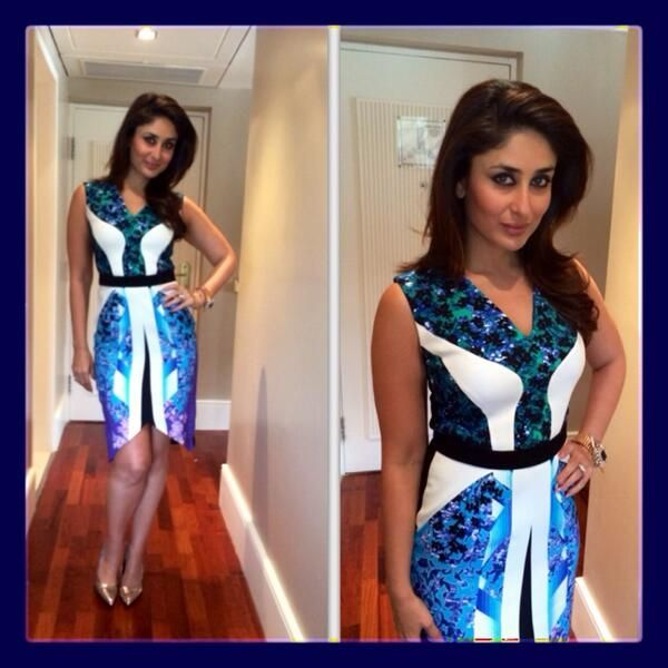 Kareena Kapoor stuns at the Head & Shoulders event. #Style #Bollywood #Fashion #Beauty