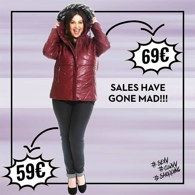 #Wow #sales #supersales #plussize #fashion #woman #sexy #curvy #shopping www.happysizes.gr