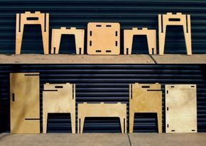 Plywood Furniture that Can Easily Assembled and Disassembled   Slydwerk