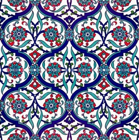 Turkish tile.