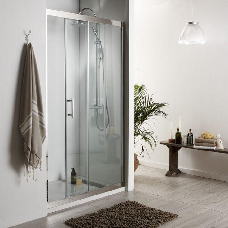 Porte de douche coulissante #douche