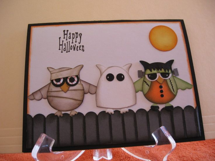 Stamp-Patty's: Halloween Punch Art
