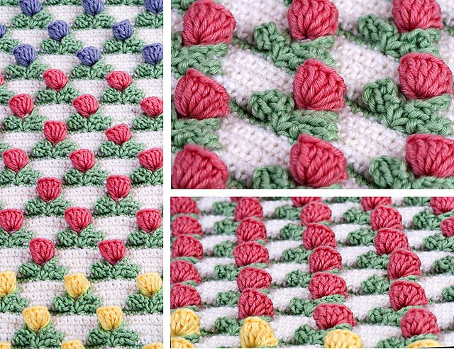Crochet Pattern For Tulip Afghan : 661 best images about Crochet 8 on Pinterest Free ...