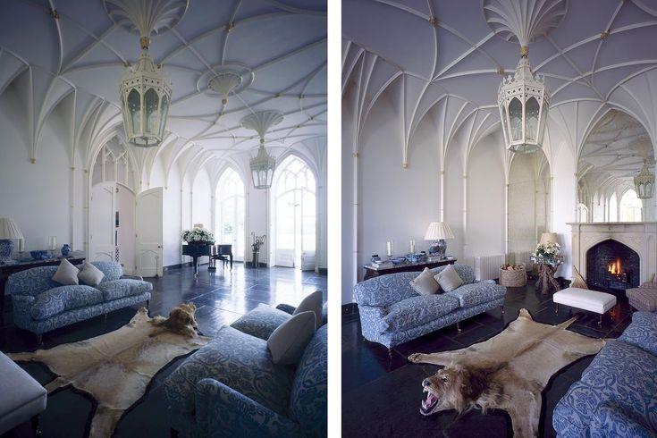 Interior , Gothic Interior Design for Dark but Attractive Home - wandgestaltung gothic