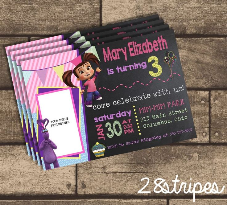 wording0th birthday party invitation%0A Kate  u     Mim Mim  Personalized Photo  Birthday Party Invitation from