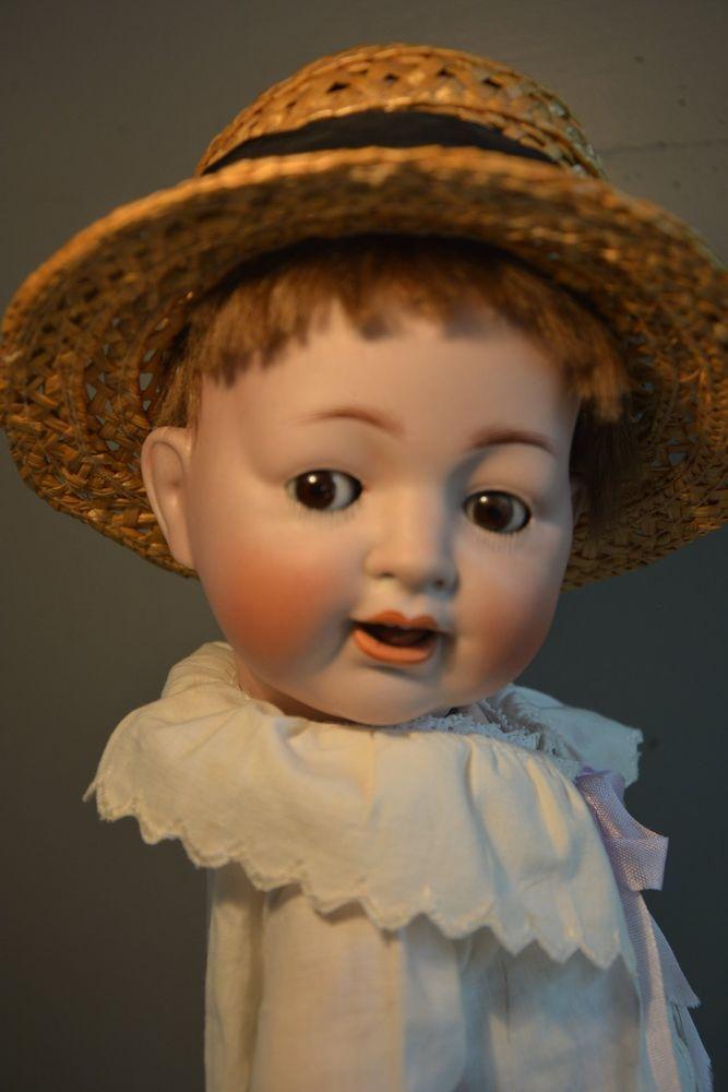 Antike Puppe!!! Junge!! Unbekannt! Toddlerkörper!!!