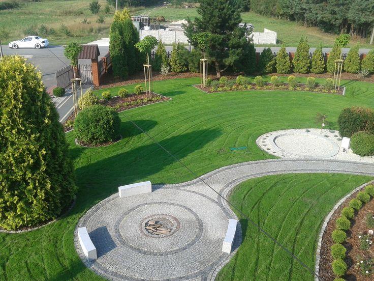 Landscape architecture garden.PROJEKTOWANIE OGRODÓW KIELCE. Nagrodzony Ogród przydomowy