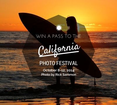 Win a pass to the California Photo Festival, valued at $499!