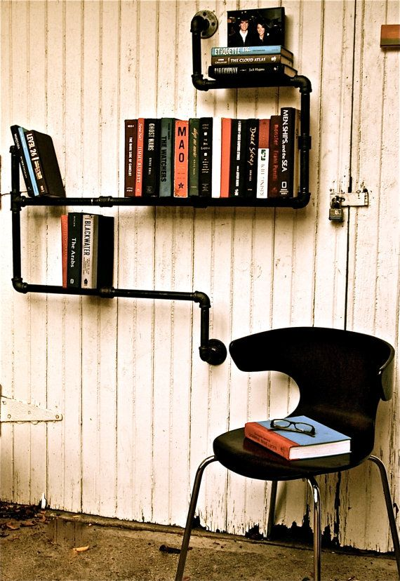 This is such a fun and creative way to shelve your books. I MUST build myself some of these.