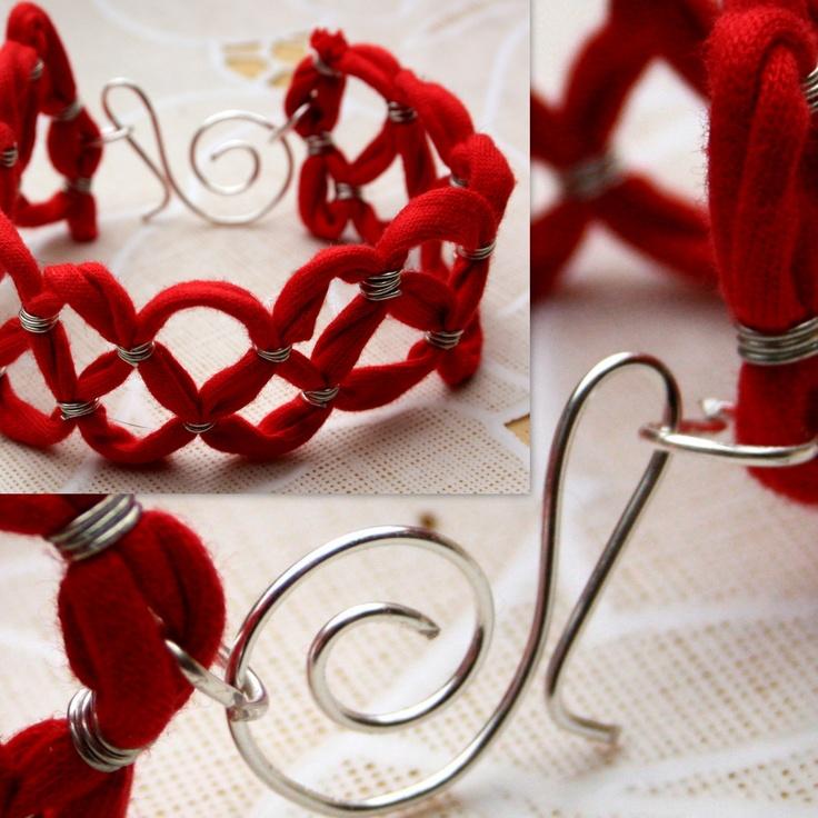 armband met wire bracelet with wire sieraden jewelery
