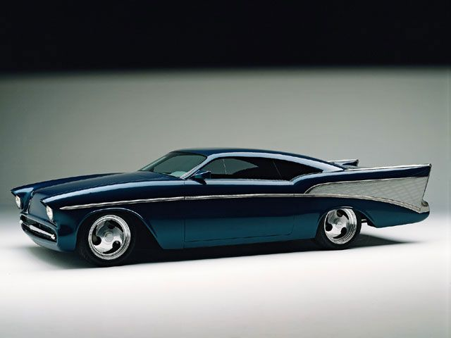 "Boyd Coddington custom '57 Chevy, ""Chezoom""  Win the powerball for big money I'm finding it and buying it."