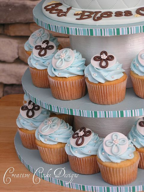 25+ best ideas about Baptism Cupcakes on Pinterest ...