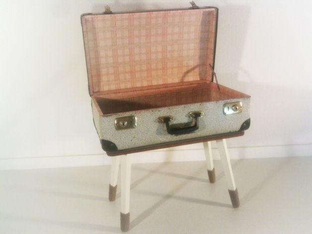 Tisch Mit Koffer Table With Suitcase By Mio Via DaWanda