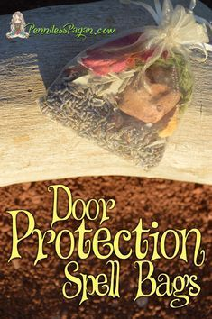 door protection spell bags bos protection spells wicca wiccan rh pinterest com