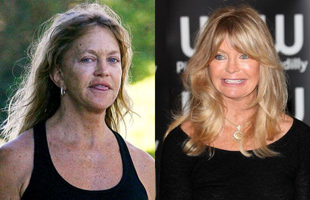 30 Shocking Photos of Hot Celebrities Without Makeup or Photoshop –