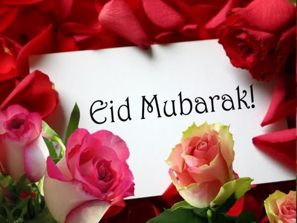 Eid Mubarak 2013 Flowers Greetings & Wishes