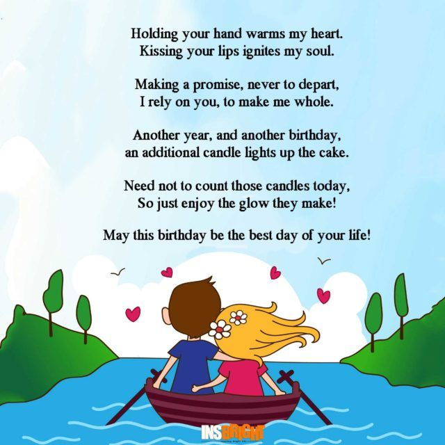 Romantic Happy Birthday Poems For Wife With Love From Husband. Kurze  GeburtstagsgedichteLiebesgedichte ...