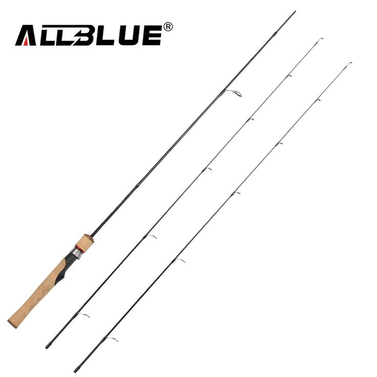ALLBLUE Viking Spinning Rod UL/L 2 Tips 1.68m Ultralight 1/32-1/4oz 2-8LB Carbon Soft Fishing Rod pesca peche Fishing Tackle //Price: $47.99 & FREE Shipping //     #fishing #flyfishing #trout #fish #fishinglife