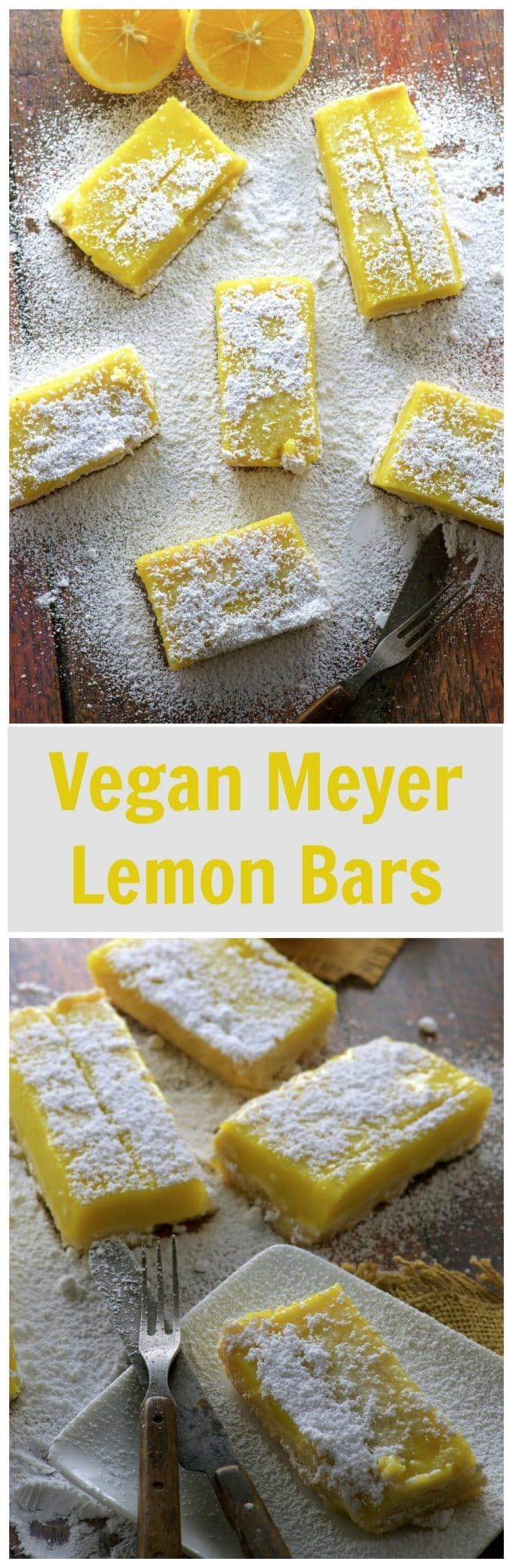 Yes, we  have these awesome Vegan Meyer Lemon Bars…Edit description
