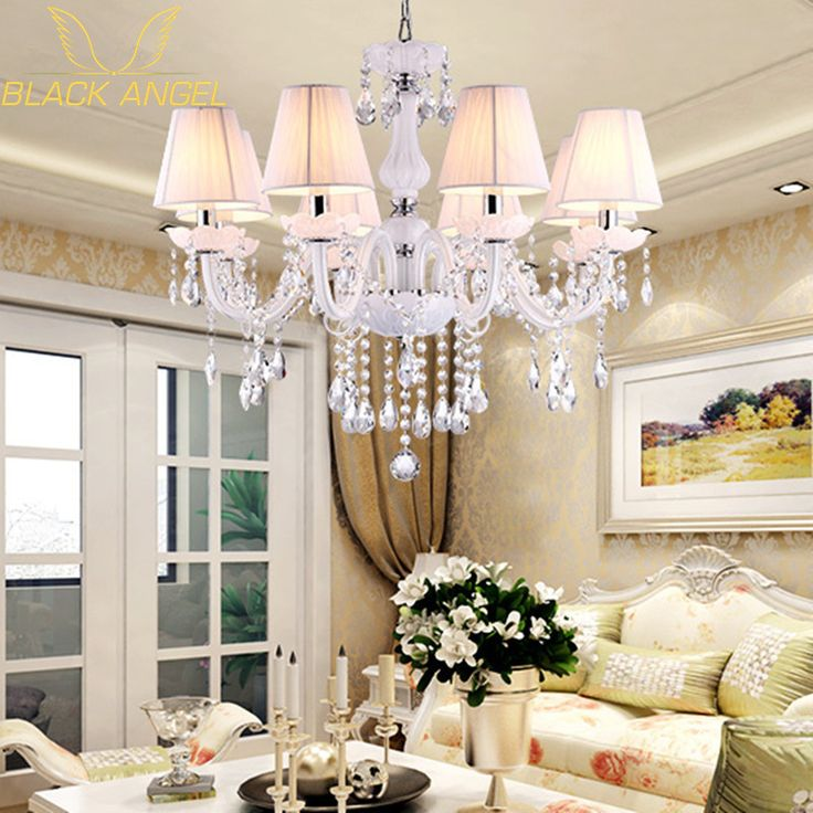 2015 European Style White Crystal Chandeliers Modern