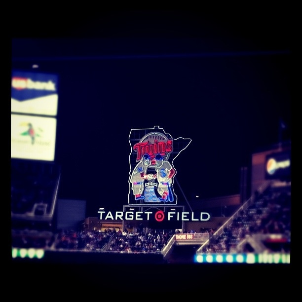 Target Field...always have a good time.