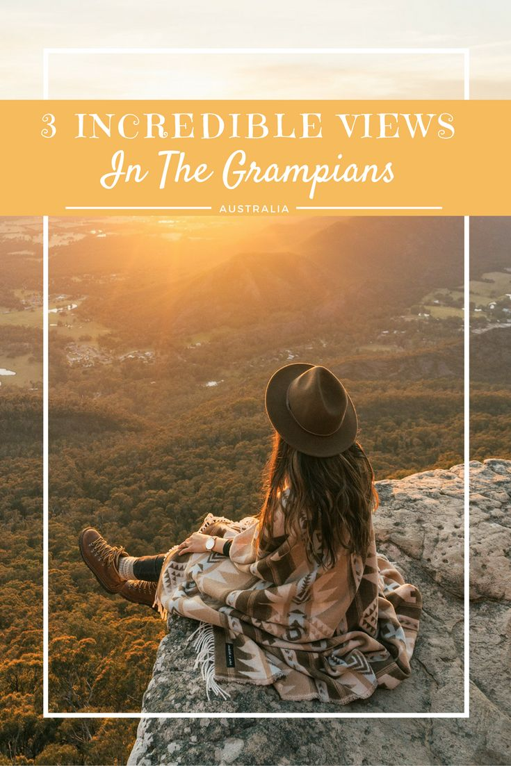 - 3 INCREDIBLE VIEWS IN THE GRAMPIANS - Grampians National Park in Australia is the perfect spot for a short getaway. Head to these 3 lookouts for the best views in the park! http://www.reneeroaming.com
