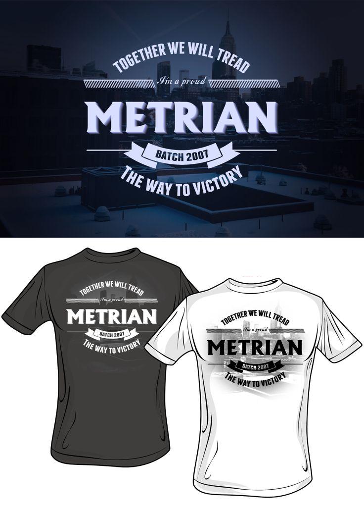 T-Shirt Design for an upcoming Alumni Homecoming :D