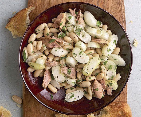 Cannellini Beans with Tuna and Pickled Cipollini Onions recipe