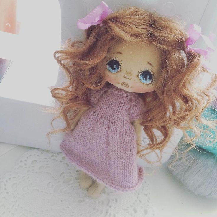 Вы соскучились по куколкам? Я очень;) скоро новенькая, это давний заказ)))…