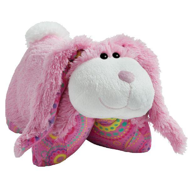 Springtime Pink Bunny Pillow Pet Animal Pillows Bunny Stuffed Animals Animal Plush Toys