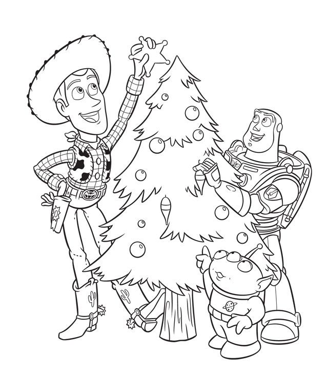 Toy Story Disney Christmas Coloring Pages Disney Coloring Pages Christmas Coloring Sheets Christmas Coloring Books