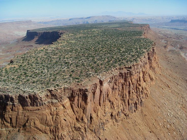 Over Monument Valley, Navajo Nation - Mesa - Wikipedia, the free encyclopedia