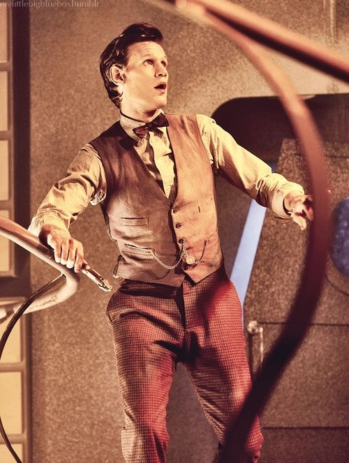 Eleven, the most childish and sillies of the doctors, was in a way an escape of seriousness for Ten after everything thing he suffered through.