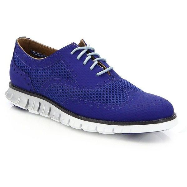 Cole Haan Zerogrand Wing Oxfords : Cole Haan Shoes (€165) ❤ liked on Polyvore featuring men's fashion, men's shoes, men's oxfords, apparel & accessories, mens lace up shoes, cole haan mens shoes, mens wingtip shoes, mens wing tip shoes and mens oxford wingtip shoes