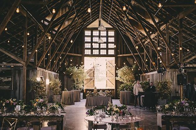 10 Best Barn Wedding Venues in the World | Santa Lucia Preserve | Bridal Musings Wedding Blog0