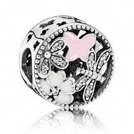 Pandora Sterling Silver Springtime Charm 791842ENMX