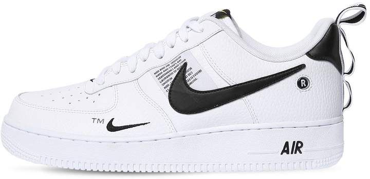 new arrival 1cd7b b385b 150.00 - Nike Air Force 1 07 Lv8 Utility Sneakers - ITEM CODE   68I-0M1002 - Leather upper - Back pull loop - Logo details - Air Sole unit  - Rubber sole ...