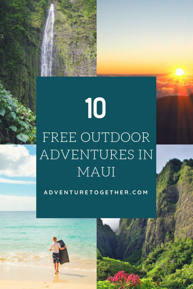 top 10 free outdoor adventures in maui travel with kids hawaii rh co pinterest com