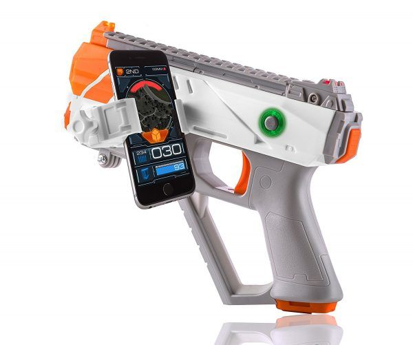 Recoil is like a FPS video game in the real world that you can play with your friends. It's modern day laser tag, and it's awesome. http://www.boys-toys.net/laser-tag-back-better-ever-nerf-recoil/