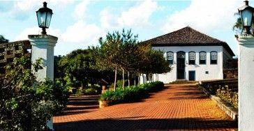 Hotel Fazenda Dona Carolina.  A former coffee farm founded in 1872.  Colonial style.  Hotel near Sao Paulo, 110km.