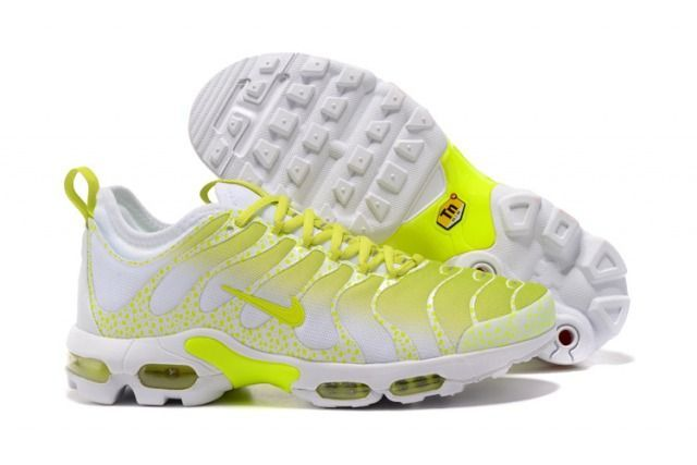 5f067a89ce Top Quality Nike Air Max Plus TN Ultra Sneakers White Lemon Yellow Men's  Running Shoes 881560 430 - NikeMaxZone.com #Sneakers