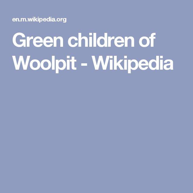 Green children of Woolpit - Wikipedia