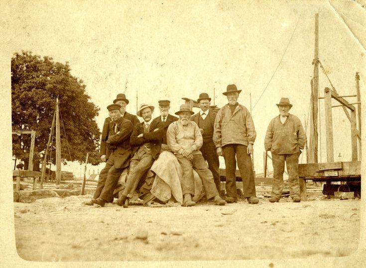 Fiskere fra Snogebæk ca. 1920