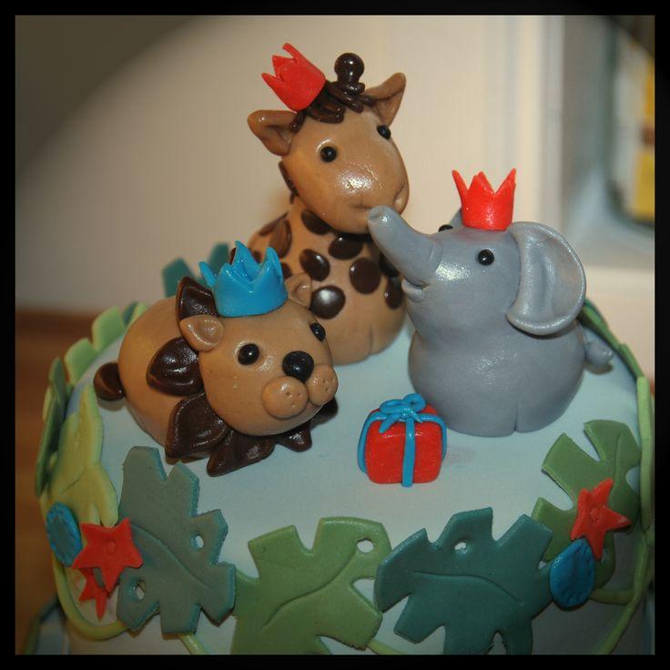 Animal cake detail