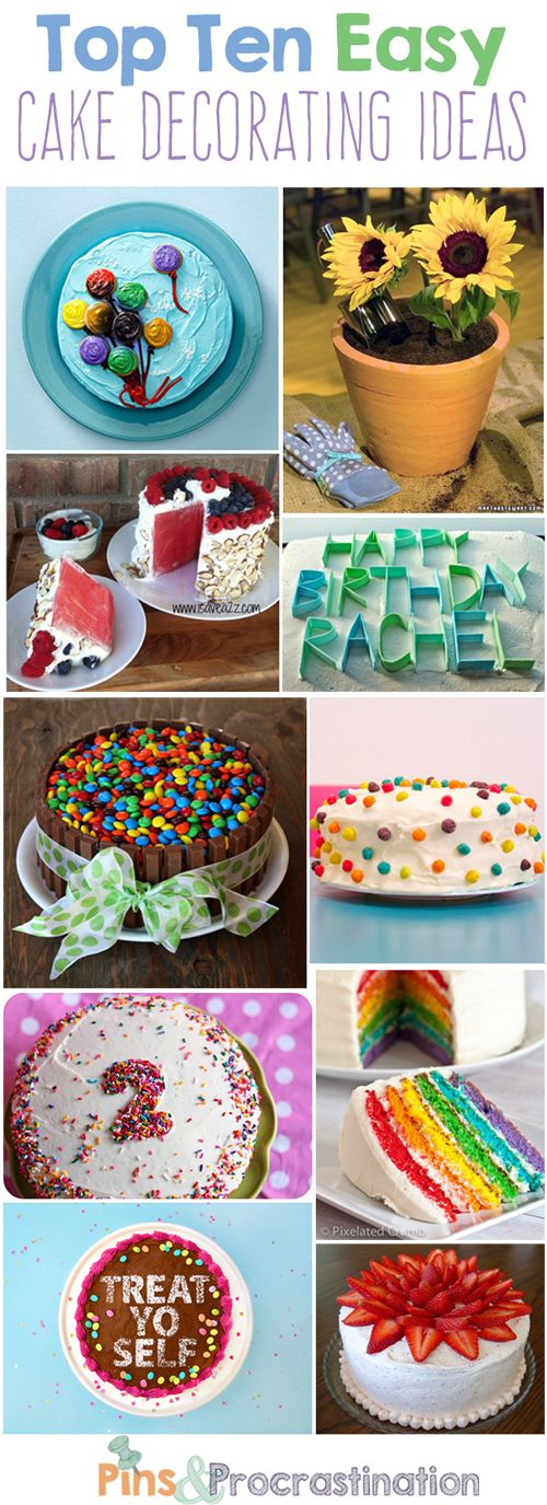 Top 10 Easy Cake Decorating Ideas 14
