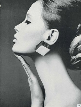 Celia Hammond, photo by David Bailey, Vogue Italia, 1966