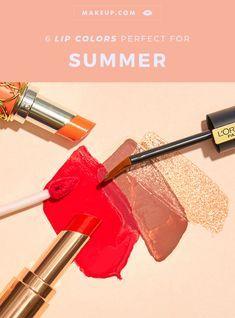Wir haben die sechs besten Lippenfarben aufgerundet, um sie so schnell wie möglich zu Ihrem sommerlichen Schönheitsangebot hinzuzufügen. # … – Lipstick colors