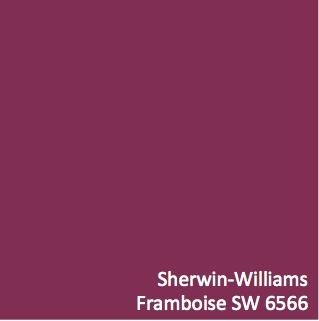Framboise Paint Color